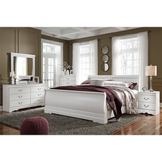 Signature Design by Ashley Anarasia Queen Sleigh 5 Piece Bedroom Set