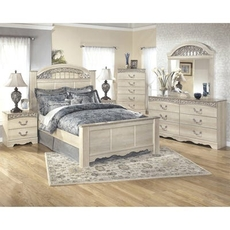Signature Design by Ashley Catalina Queen Panel 5 Piece Bedroom Set
