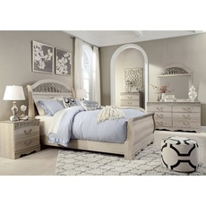 Signature Design by Ashley Catalina Queen Sleigh 5 Piece Bedroom Set