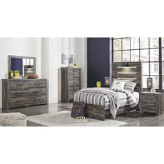 Signature Design by Ashley Drystan Twin 5 Piece Bedroom Set