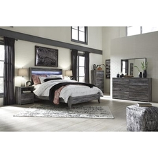 Signature Design by Ashley Baystorm King Panel 5 Piece Bedroom Set