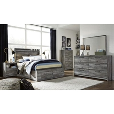 Signature Design by Ashley Baystorm Full Panel 5 Piece Bedroom Set with Underbed Storage