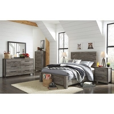 Signature Design by Ashley Cazenfeld Full Panel 5 Piece Bedroom Set