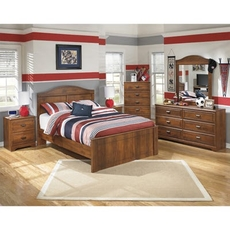 Signature Design by Ashley Barchan Full 5 Piece Bedroom Set