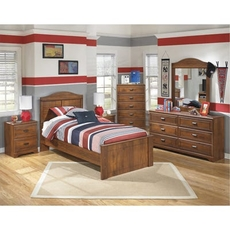 Signature Design by Ashley Barchan Twin 5 Piece Bedroom Set