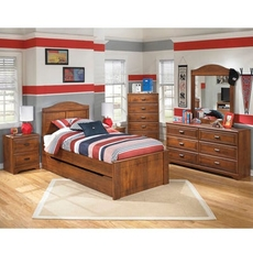 Signature Design by Ashley Barchan Twin Trundle 5 Piece Bedroom Set