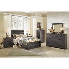 Signature Design by Ashley Brinxton Full Panel 5 Piece Bedroom Set