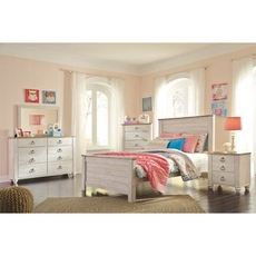 Signature Design by Ashley Willowton Full 5 Piece Bedroom Set