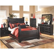 Signature Design by Ashley Shay King Poster 5 Piece Bedroom Set