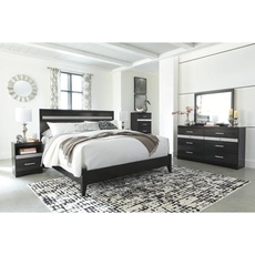 Signature Design by Ashley Starberry King Panel 5 Piece Bedroom Set