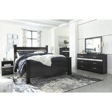 Signature Design by Ashley Starberry King Poster 5 Piece Bedroom Set