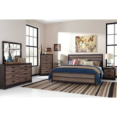 Signature Design by Ashley Harlinton King Panel 5 Piece Bedroom Set