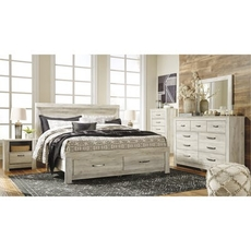 Signature Design by Ashley Bellaby King Panel Storage 5 Piece Bedroom Set
