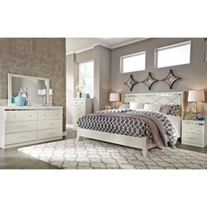Signature Design by Ashley Dreamur King Panel 5 Piece Bedroom Set