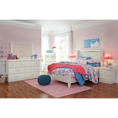 Signature Design by Ashley Dreamur Full 5 Piece Bedroom Set