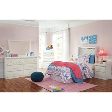 Signature Design by Ashley Dreamur Twin 5 Piece Bedroom Set
