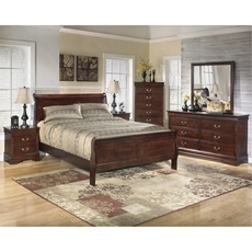 Signature Design by Ashley Alisdair Queen Sleigh 5 Piece Bedroom Set