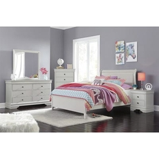 Signature Design by Ashley Jorstad Full Sleigh 5 Piece Bedroom Set