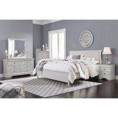 Signature Design by Ashley Jorstad King Sleigh 5 Piece Bedroom Set