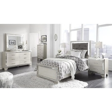 Signature Design by Ashley Lonnix Twin 5 Piece Bedroom Set