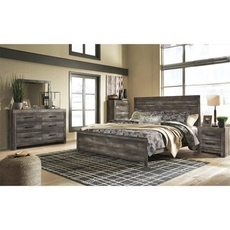 Signature Design by Ashley Wynnlow King Panel 5 Piece Bedroom Set