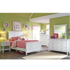 Signature Design by Ashley Kaslyn Full 5 Piece Bedroom Set