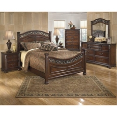 Signature Design by Ashley Leahlyn King Panel 5 Piece Bedroom Set