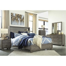 Signature Design by Ashley Arnett King Panel 5 Piece Bedroom Set