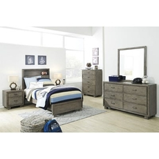 Signature Design by Ashley Arnett Twin 5 Piece Bedroom Set