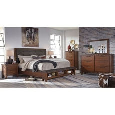 Signature Design by Ashley Ralene 5 Piece Cal King Bedroom Group