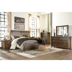 Signature Design by Ashley Lakekeigh Queen Panel 5 Piece Bedroom Set