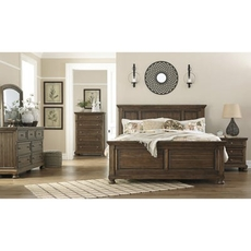 Signature Design by Ashley Flynnter Cal King Panel 5 Piece Bedroom Set