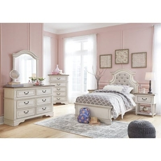 Signature Design by Ashley Realyn Twin 5 Piece Bedroom Set