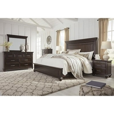 Signature Design by Ashley Brynhurst King Panel 5 Piece Bedroom Set