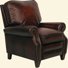 Barcalounger Briarwood II Power Recliner in Stetson Bordeaux