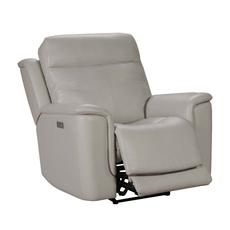 Barcalounger Burbank Recliner with Power Recline, Power Headrest & Power Lumbar - Laurel Cream