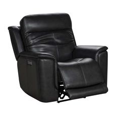 Barcalounger Burbank Recliner with Power Recline, Power Headrest & Power Lumbar - Matteo Smokey Gray