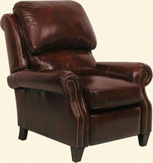 Barcalounger Churchill II Recliner in Double Fudge