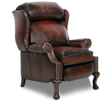 Barcalounger Danbury II Recliner in Stetson Bordeaux