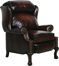 Barcalounger Danbury II Power Recliner in Stetson Coffee