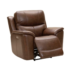 Barcalounger Kaden Recliner with Power Recline, Power Headrest & Power Lumbar - Jarod Brown