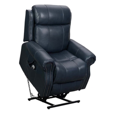 Barcalounger Langston Lift Chair with Power Recline, Power Headrest & Power Lumbar - Venzia Blue