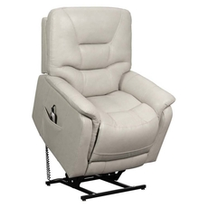 Barcalounger Lorence Lift Chair with Power Recline, Power Headrest & Power Lumbar - Venzia Cream