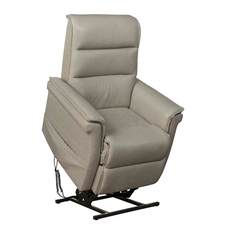 Barcalounger Luka Lift Chair with Power Recline and Power Headrest - Venzia Cream