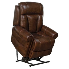 Barcalounger Lyndon Lift Chair with Power Recline, Power Headrest & Power Lumbar - Tonya Brown