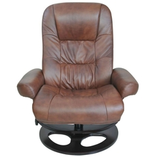 Barcalounger Pedestal Recliners Jacque II Recliner in Hilton Whiskey