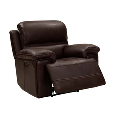 Barcalounger Sedrick Recliner with Power Recline and Power Headrest - El Paso Walnut