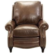 Barcalounger Vintage Avery Recliner in Bradford Whiskey
