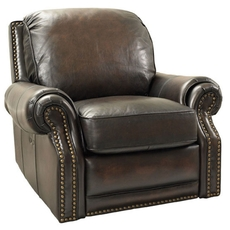 Barcalounger Vintage Premier II Recliner in Stetson Coffee
