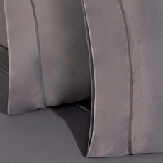Bedgear Dri-Tec Grey Queen Pillowcase Set